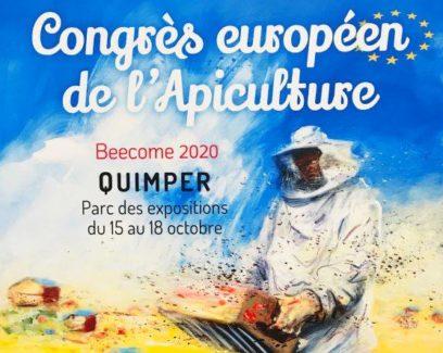 affiche congrès européen de l'apiculture