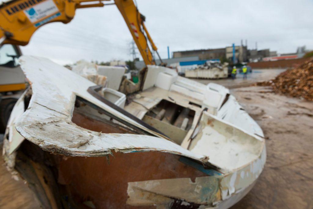 Filière déconstruction des bateaux de plaisance en Bretagne