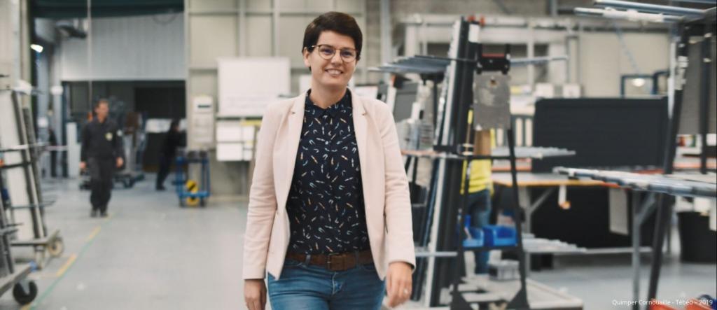 Emmanuelle Legault, talent de Quimper Cornouaille, PDG de Cadiou industrie, Locronan