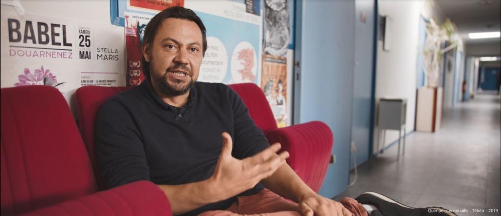 Fred Prémel Talent de Quimper Cornouaille, co-fondateur Pôle audiovisuel de Douarnenez, Gérant de Tita Productions, Douarnenez