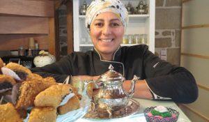 Bochra Kachi, fondatrice de la société Cook Sun Cakes, pâtisserie, salon de thé, Quimper