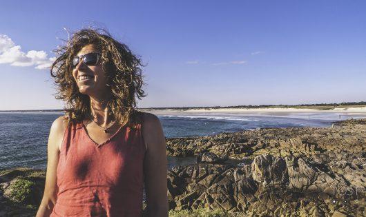 ulie Gerecht, navigatrice et entrepreneure,talent de Quimepr Cornouaille, Lescnil, La Torche, portrait de Tost Magazine