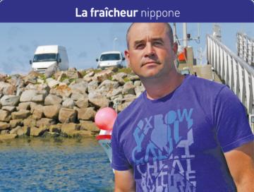 Nathanaël ROULLO, patron du Kaizen basé à Saint-Guénolé, pratique de l'ikéjimé, Cornouaille