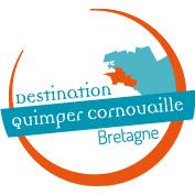 Logo Detsination touristique Quimper Cornouaille, sud Finistère, OuestBretagne