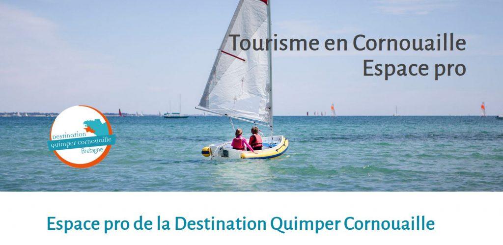 Espace pro de la Destination Quimper Cornouaille  Retrouvez les actions, les informations pratiques et les contenus de la Destination pour les professionnels du tourisme en Cornouaille.