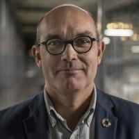 Loïc Hénaff, président de la société Jean Hénaff SA, entreprise emblématique de la Cornouaille, Pouldreuzic, Pays Bigouden