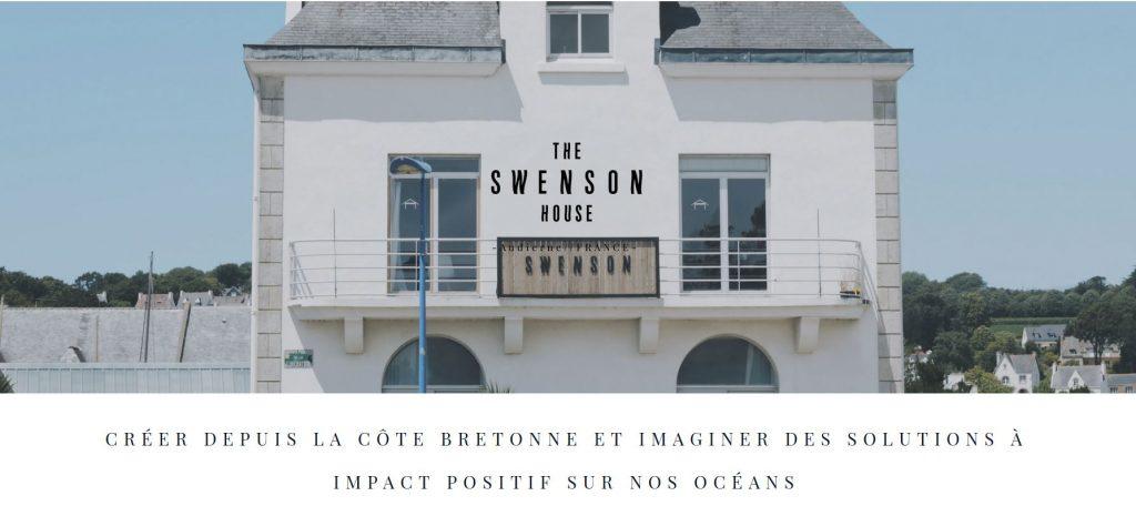 The Swenson House Audierne est un workspace situé dans la baie d'Audierne en Bretagne. Un espace dédié aux entrepreneurs souhaitant travailler au bord de l'océan et rejoindre une communauté dédiée à la recherche de solutions à impact positif pour nos océans.