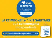 La CCIMBO offre un Kit de protection sanitaire d'activités aux commerçants de détail indépendants