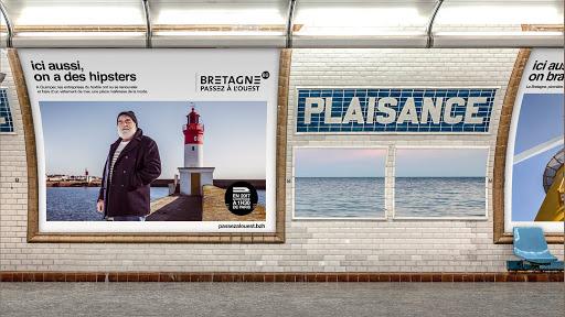 La Bretagne, ses paysages de rêve, sa qualité de vie... et ses nombreuses opportunités professionnelles ! Vous en rêvez ? Campagne #passezalouest de Marque Bretagne