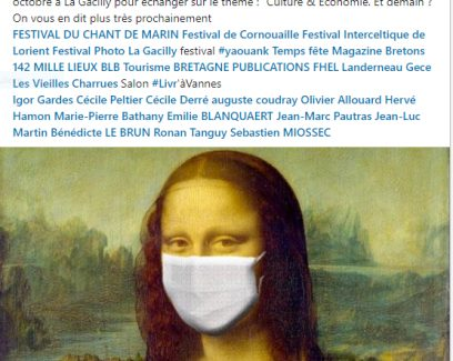 """Réseau Produit en Bretagne donne RDV aux professionnels de la #Culture en #Bretagne, élus, journalistes, entreprises, le 2 octobre à La Gacilly pour échanger sur le thème : """"Culture & Economie. Et demain ?"""""""