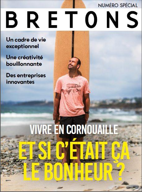 Vivre en Cornoauille. Et si c'était ça le bonheur? Promotion des talents cornouaillais dans le magazine BRETONS (été 2020)