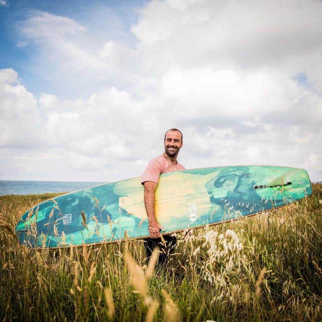 Robin Goffinet, Robsurfboards, Quimper Cornouaille nourrit votre inspiration,  Gwenaël Saliou, QCD 2020