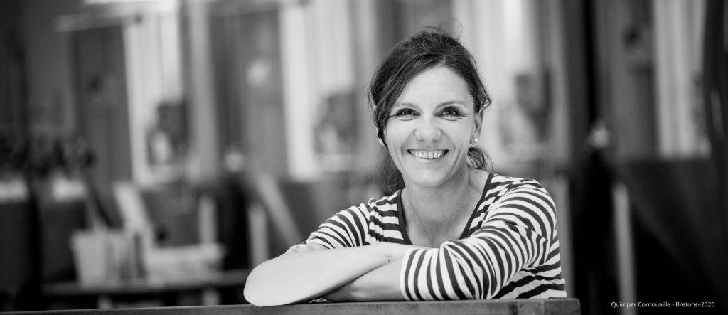 Sara Bambagiotti, fondatrice de la brasserie Melron, Penamrch. Talent de Quimper Cornouaille