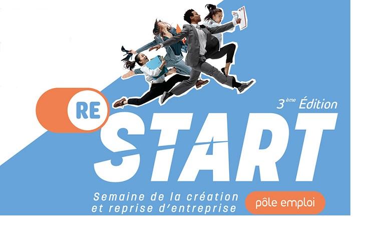 Restart 2020 : La Semaine de la création et de la reprise d'entreprise en organisée par Pôle emploi Bretagne
