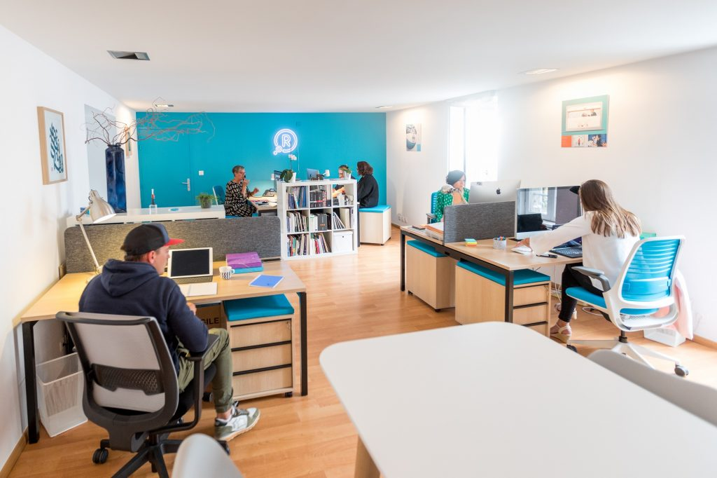 Espace de coworking CoworkR à Quimper (Photo : Studio JAE)