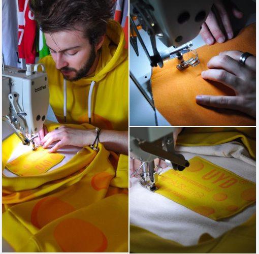 Photo : UYD la 1ère marque fashion française écoresponsable est Quimpéroise