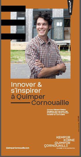 Clément Chabot, fondateur du Low tech lab concarneau, talent de Quimper Cornouaille