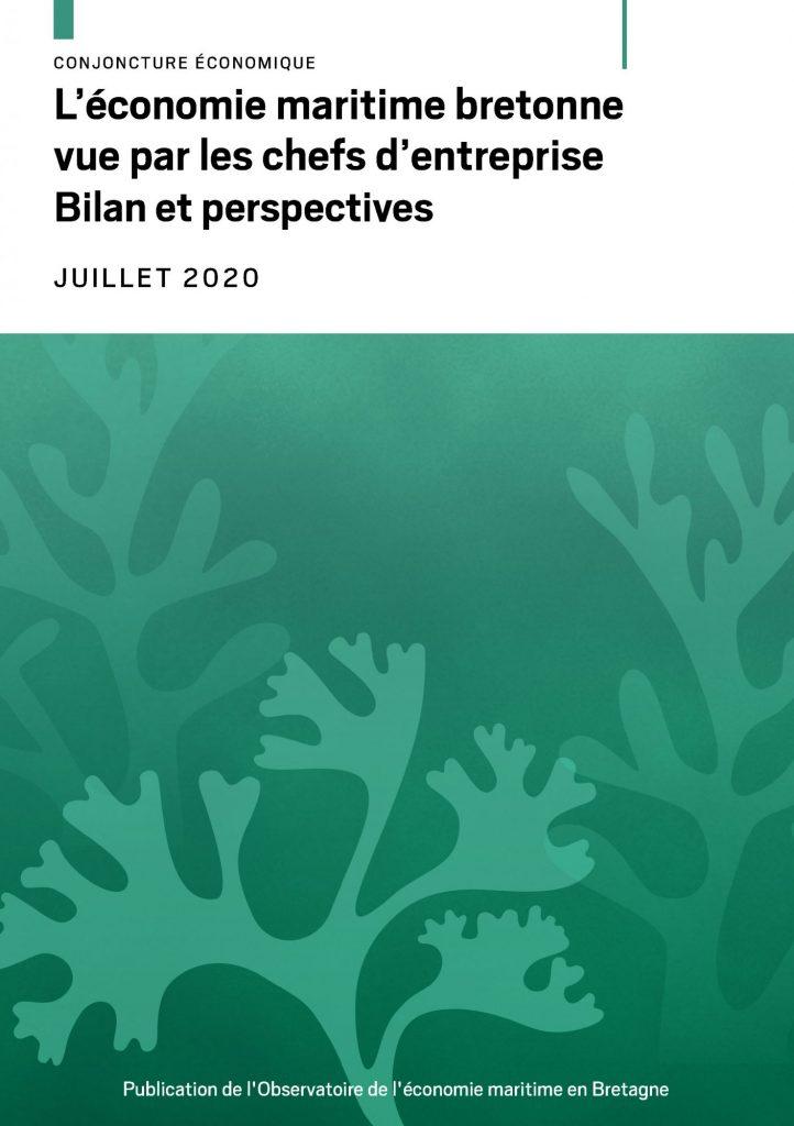 Note de conjoncture économique, « L'économie maritime bretonne vue par les chefs d'entreprises. Bilan et perspectives »