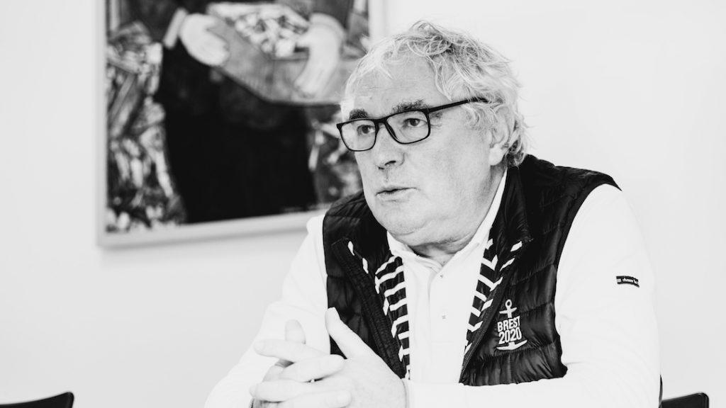 Palmarès des entreprises bretonnes 2020-2021, Jean-Guy Le FLoch, Armor Lux, photo Simon Cohen