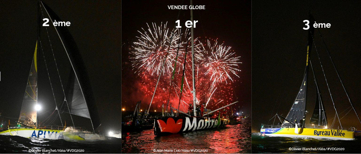 Photo : CDK Technologies : une entreprise emblématique de la Bretagne Sailing Valley à l'honneur du Vendée Globe
