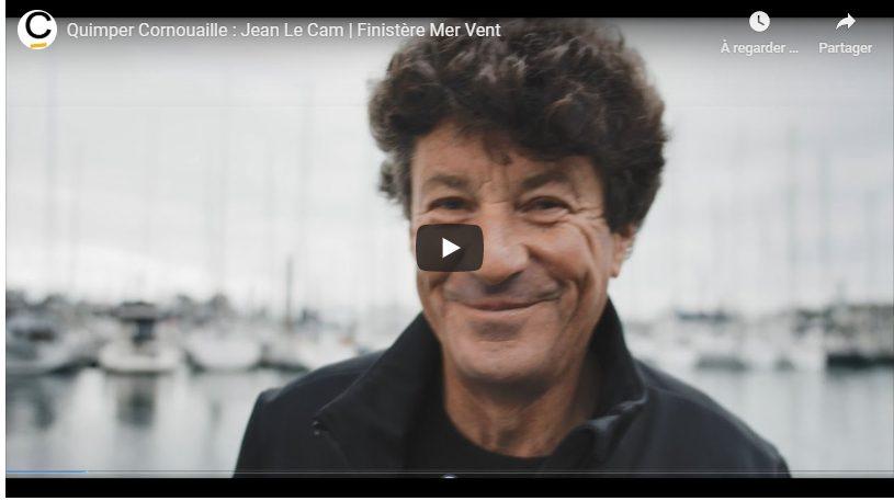 Portrait de Jean Le Cam, talent de Quimper Cornouaille par Tébéo
