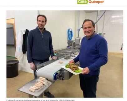 Dans le Finistère, la société Bretinov commercialise une machine à nems unique au monde (Côté Quimper, 12/2/2021)