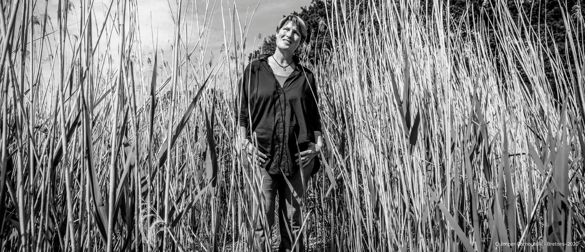 Anne Quéméré, navigatrice, écrivain, talent de Quimper Cornouaille. Crédit Gwenaël Saliou_Bretons_2020