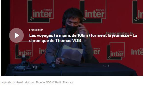 La chronique de Thomas VDB sur France Inter : campagnes de promotion, attractivité de la province dans le métro parisien