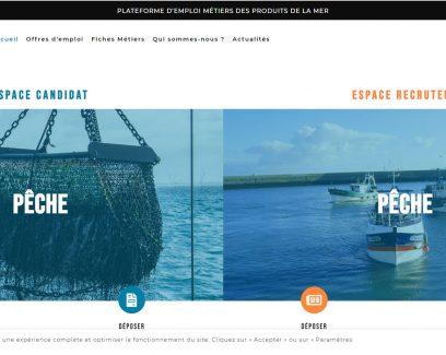 site internet de Breizhmer, l'association qui réunit les structures professionnelles de l'aquaculture, de la pêche et du mareyage en Bretagne afin de défendre leurs intérêts et développer ces activités dans notre région.