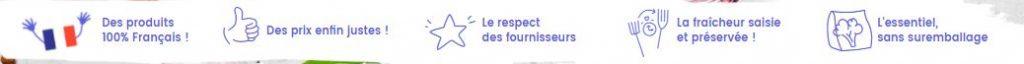 Les services d'écomiam, les irréductibles surgelés, entreprise emblématique cotée en bourse et basée à Quimper, Cornouialle.