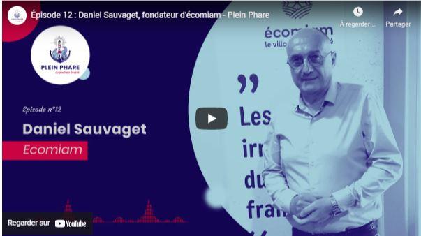 Daniel Sauvaget, Talent de Quimper Cornouaille dans le podcast Plein Phare qui fait rayonner l'économie bretonne