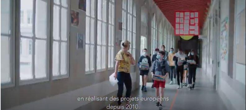 Marie-Pierre Nicolas, enseignante, Le Likès La Salle, Quimper. Pilote du projet Nourrir les hommes en 2050. Talent de Quimper Cornouaille, Vidéo Tébéo pour QCNVI