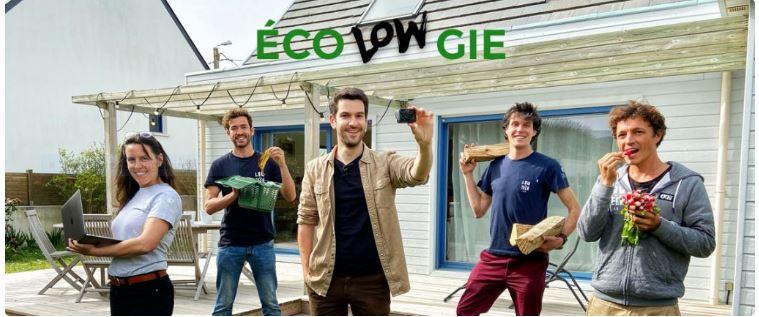EcoLOWgie, la web-série réalisée par Evan de Bretagne à l'initiative de la Région Bretagne et développée en partenariat avec l'équipe du Low-Tech Lab