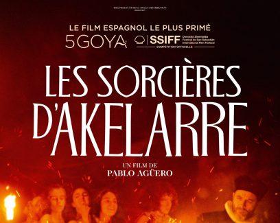Affiche du film Les sorcières d'Akelarre, production de Tita Productions basée à Douarnenez